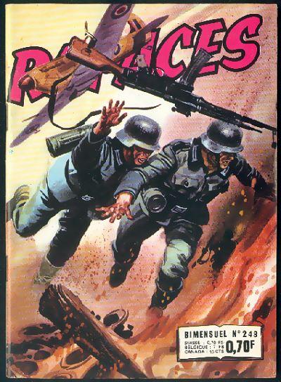 Couverture de Rapaces (Impéria) -248- Défi dans le ciel - Le bombardier aveugle - Buster le courageux