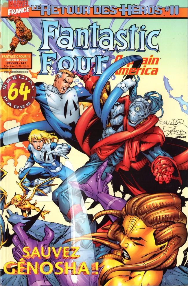 Couverture de Fantastic Four (Retour des héros) -11- Il faut sauver Genosha !