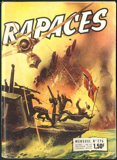 Couverture de Rapaces (Impéria) -275- Ciel sauvage - Puissance de frappe