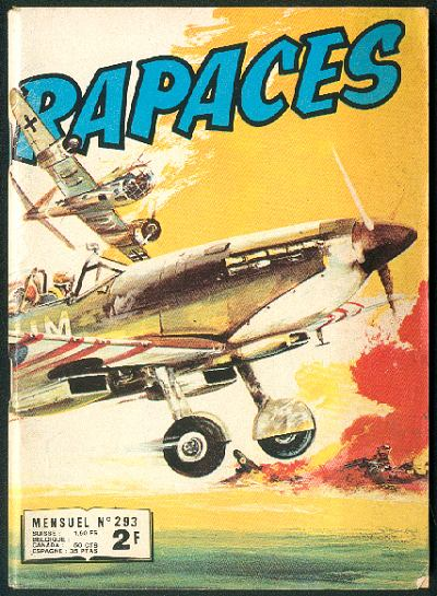 Couverture de Rapaces (Impéria) -293- Le Raider rebelle - La peur - Vol de secours - Le dernier coup - Épreuve du feu