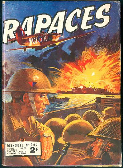 Couverture de Rapaces (Impéria) -297- Sus au Tirpitz - Tourbillon dans le ciel