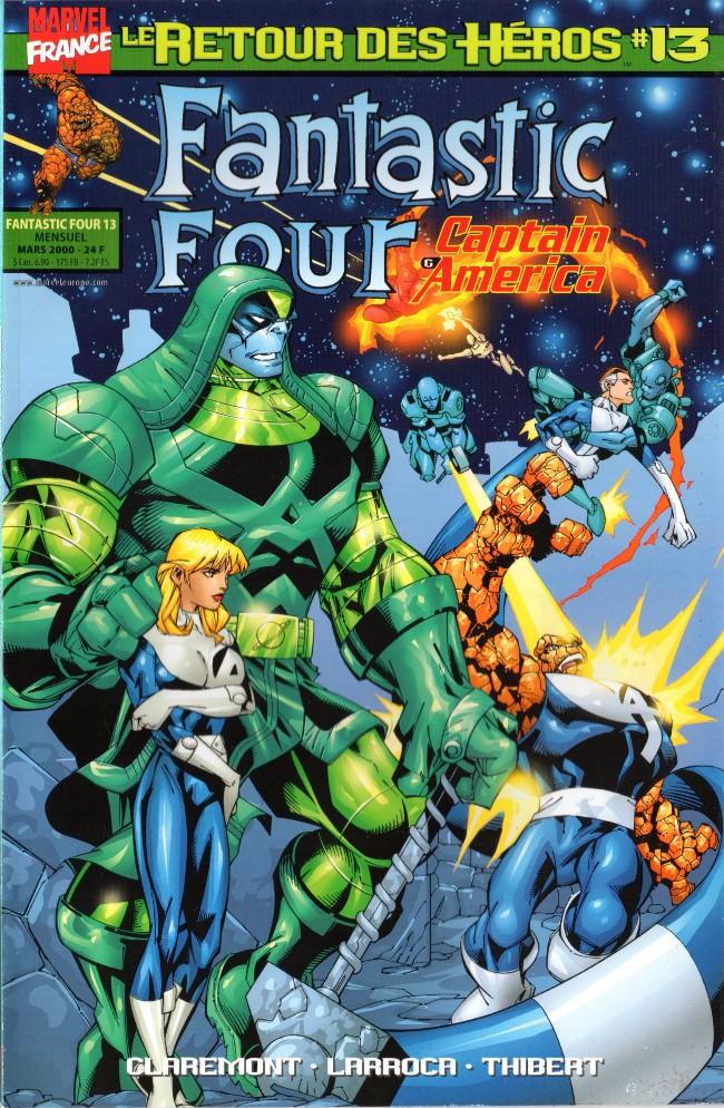Couverture de Fantastic Four (Retour des héros) -13- Il ne fait pas bon mourir sur la Lune