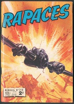 Couverture de Rapaces (Impéria) -310- L'escadrille de la chance - Le chevalier du ciel