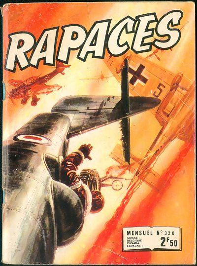 Couverture de Rapaces (Impéria) -320- Les vengeurs - La 60e mission