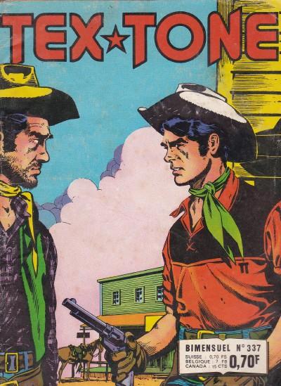 Couverture de Tex-Tone -337- Les gitans