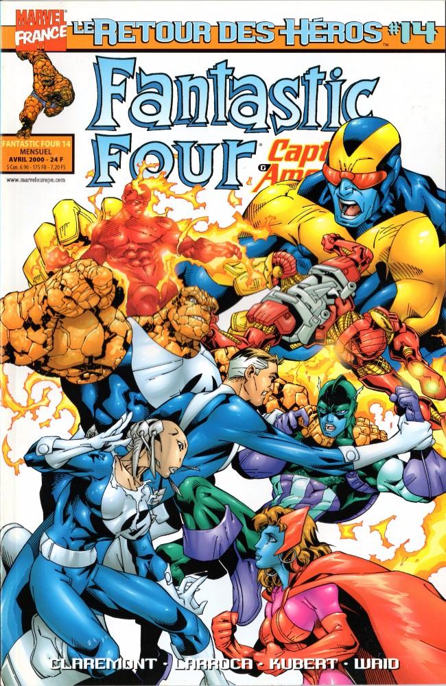 Couverture de Fantastic Four (Retour des héros) -14- Sélection non naturelle