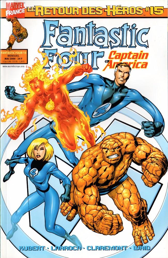 Couverture de Fantastic Four (Retour des héros) -15- Bandits à Shadow City