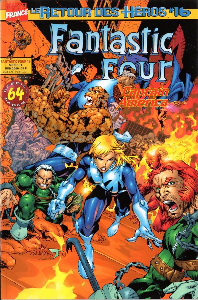 Couverture de Fantastic Four (Retour des héros) -16- La grande évasion