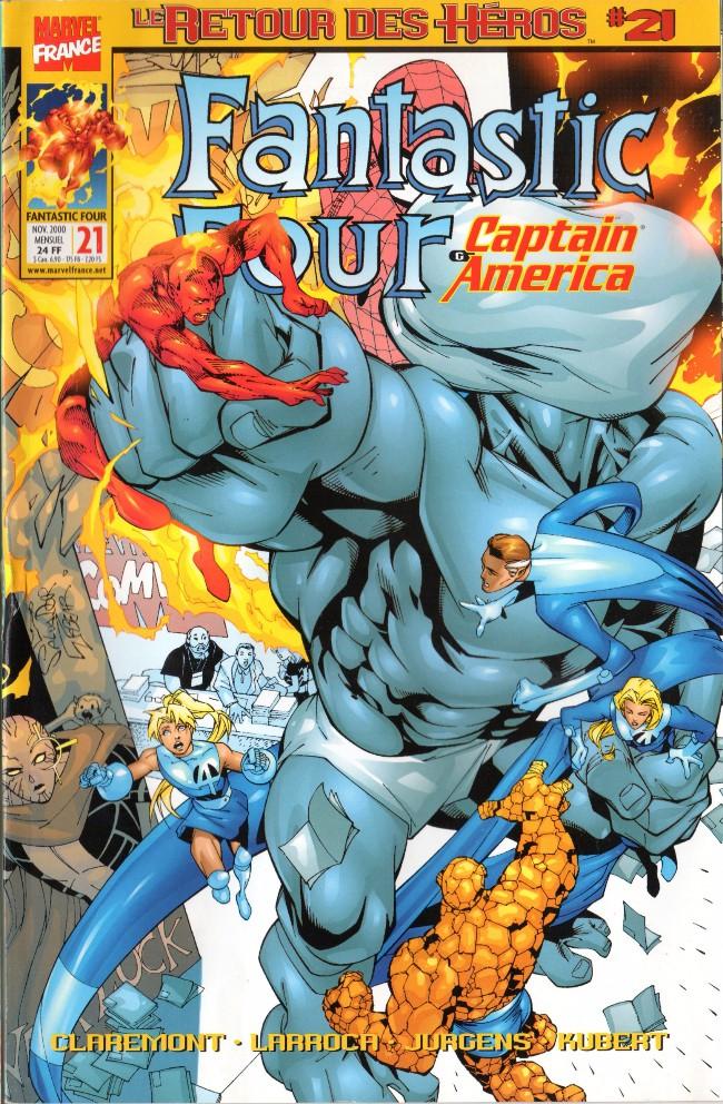 Couverture de Fantastic Four (Retour des héros) -21- Le procès
