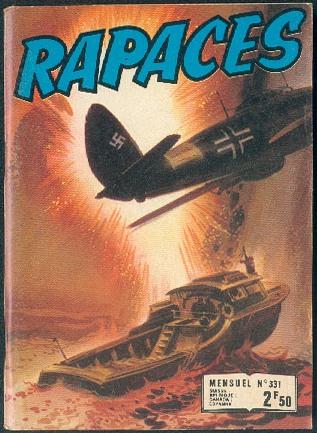 Couverture de Rapaces (Impéria) -331- Œil de chat - L'avion pirate