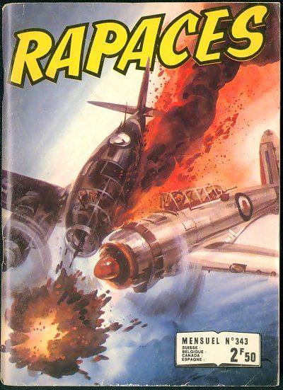 Couverture de Rapaces (Impéria) -343- Radar raider - Mission spéciale - Repaire dans le désert