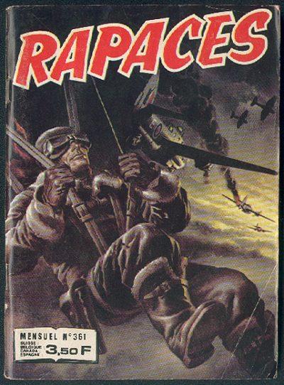 Couverture de Rapaces (Impéria) -361- Ailes dans la nuit - Puissance de frappe