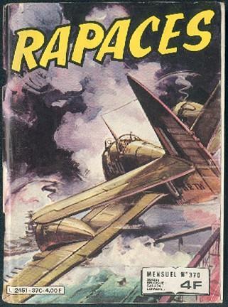 Couverture de Rapaces (Impéria) -370- Les affreux - Le piège de feu - L'oiseau fou - Le sauteur
