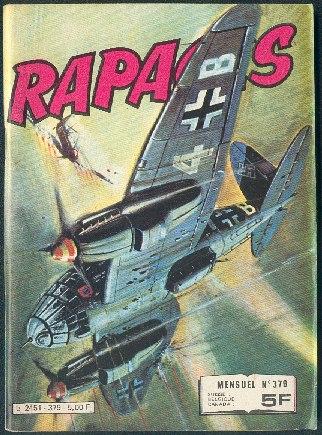 Couverture de Rapaces (Impéria) -379- Alerte aux Skuas - Pilote d'essais - Défi dans le ciel