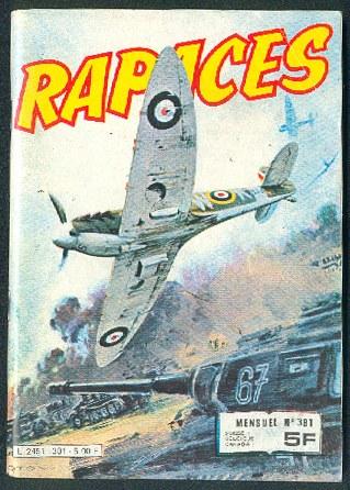 Couverture de Rapaces (Impéria) -381- Escadrille