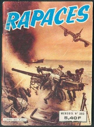 Couverture de Rapaces (Impéria) -393- L'escadrille de la chance - Le chevalier du ciel