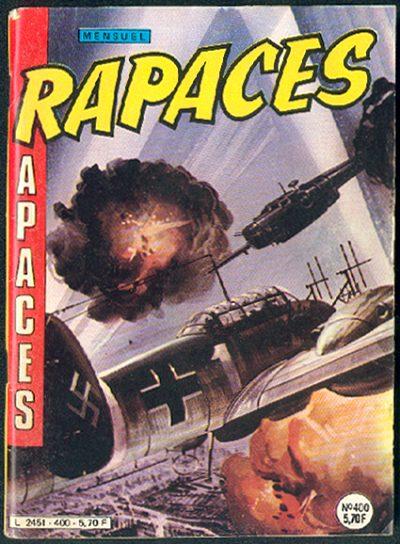 Couverture de Rapaces (Impéria) -400- Combat de nuit - Forteresses volantes