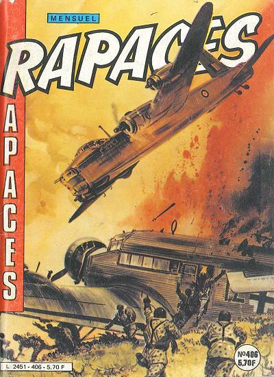 Couverture de Rapaces (Impéria) -406- Le feu et la colère - La victime ! - L'homme d'acier
