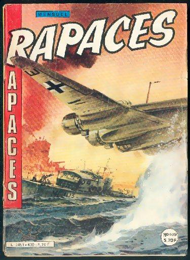 Couverture de Rapaces (Impéria) -409- Opération malchance - Le responsable