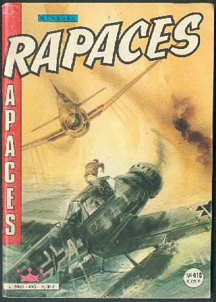 Couverture de Rapaces (Impéria) -410- L'as de pique - Les vengeurs