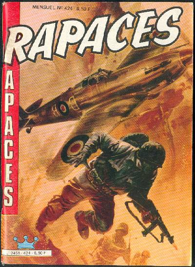Couverture de Rapaces (Impéria) -424- Transport de troupes - Les survivants