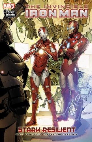 Couverture de Invincible Iron Man (2008) -INT06- Stark Resilient book 2