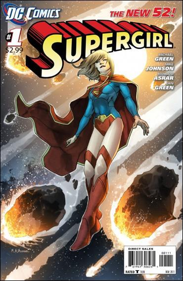 Couverture de Supergirl (2011) -1- Last daughter of Krypton