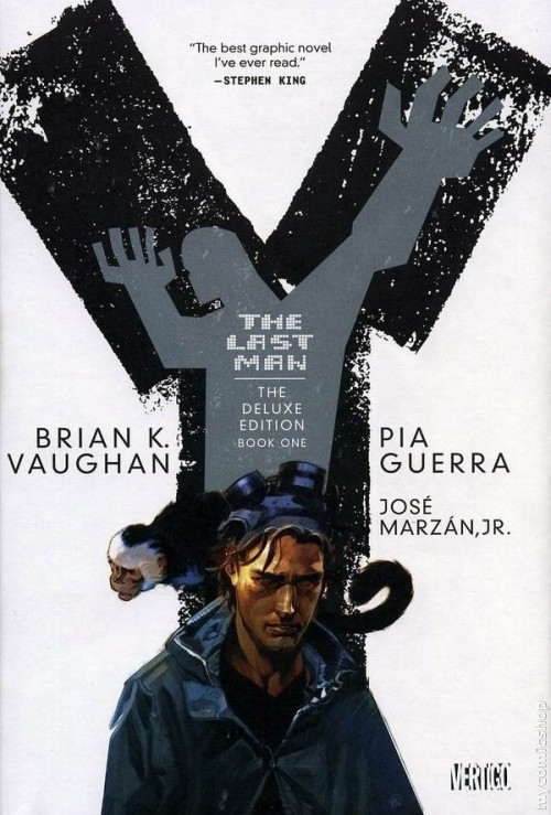 Couverture de Y: The Last Man (The deluxe edition) (2008) -INT1- Book one