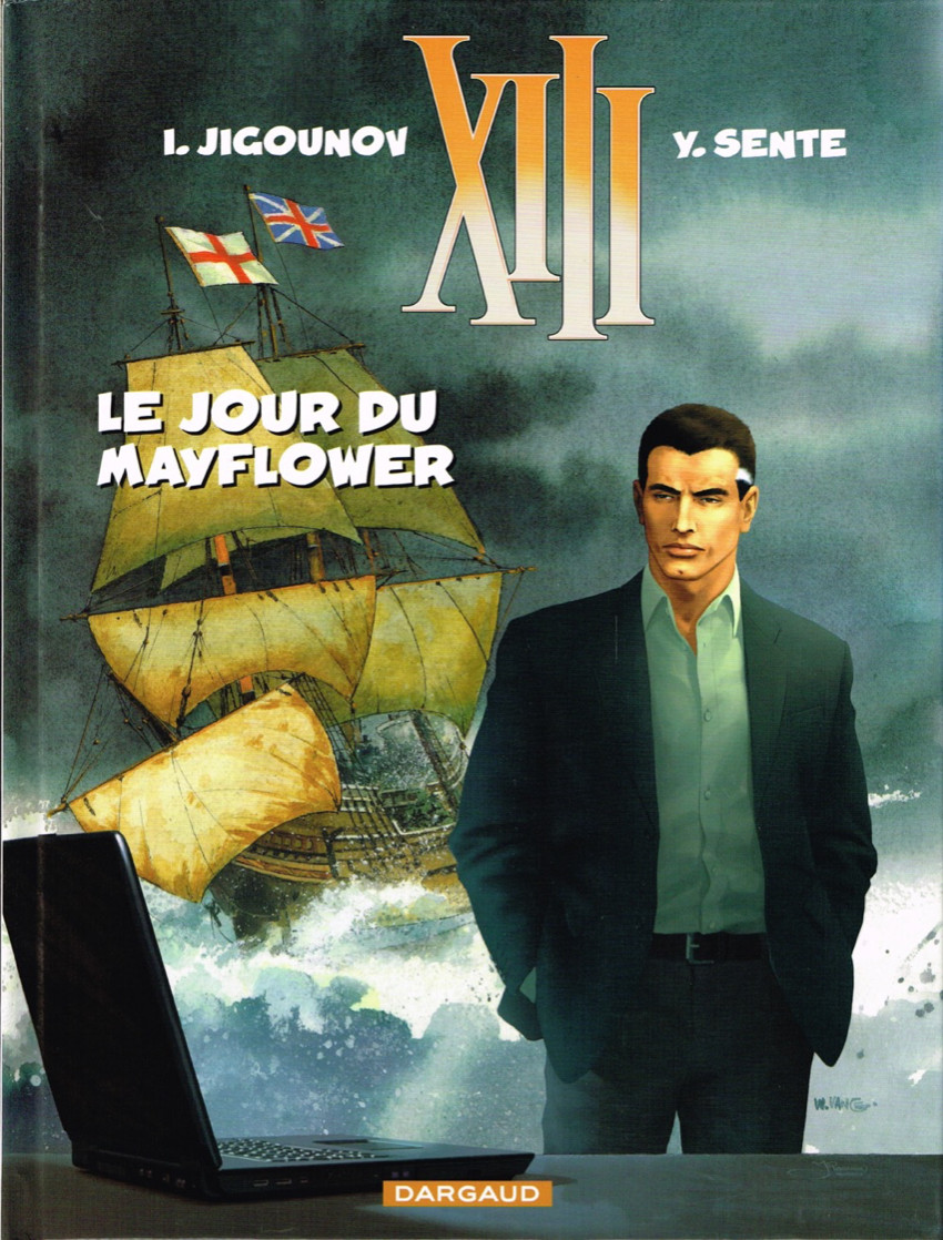 Couverture de XIII -20- Le jour du Mayflower
