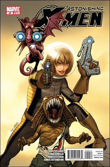 Couverture de Astonishing X-Men (2004) -42- Meanwhile conclusion