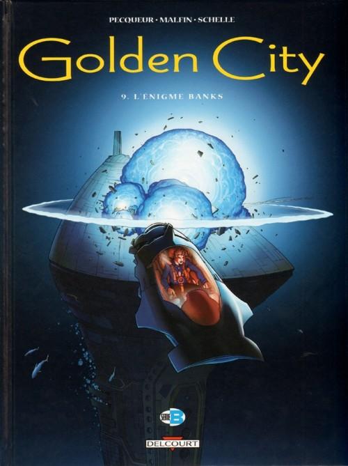 Couverture de Golden City -9- L'Énigme Banks