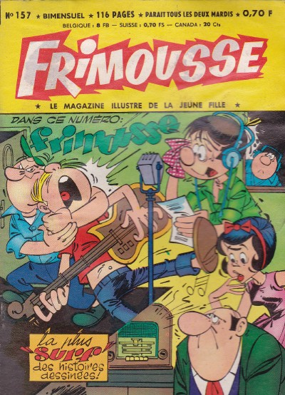 Couverture de Frimousse et Frimousse-Capucine -157- Nora la fille du shériff