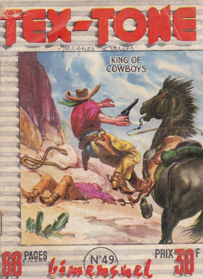 Couverture de Tex-Tone -49- Victimes désignées
