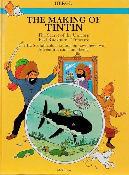 Couverture de Tintin (The Adventures of) -INT2- The Secret of the Unicorn - Red Rackham's Treasure