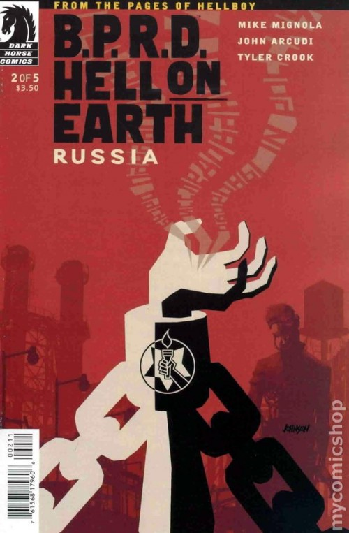Couverture de B.P.R.D. (2003) -83- Hell on Earth - Russia 2