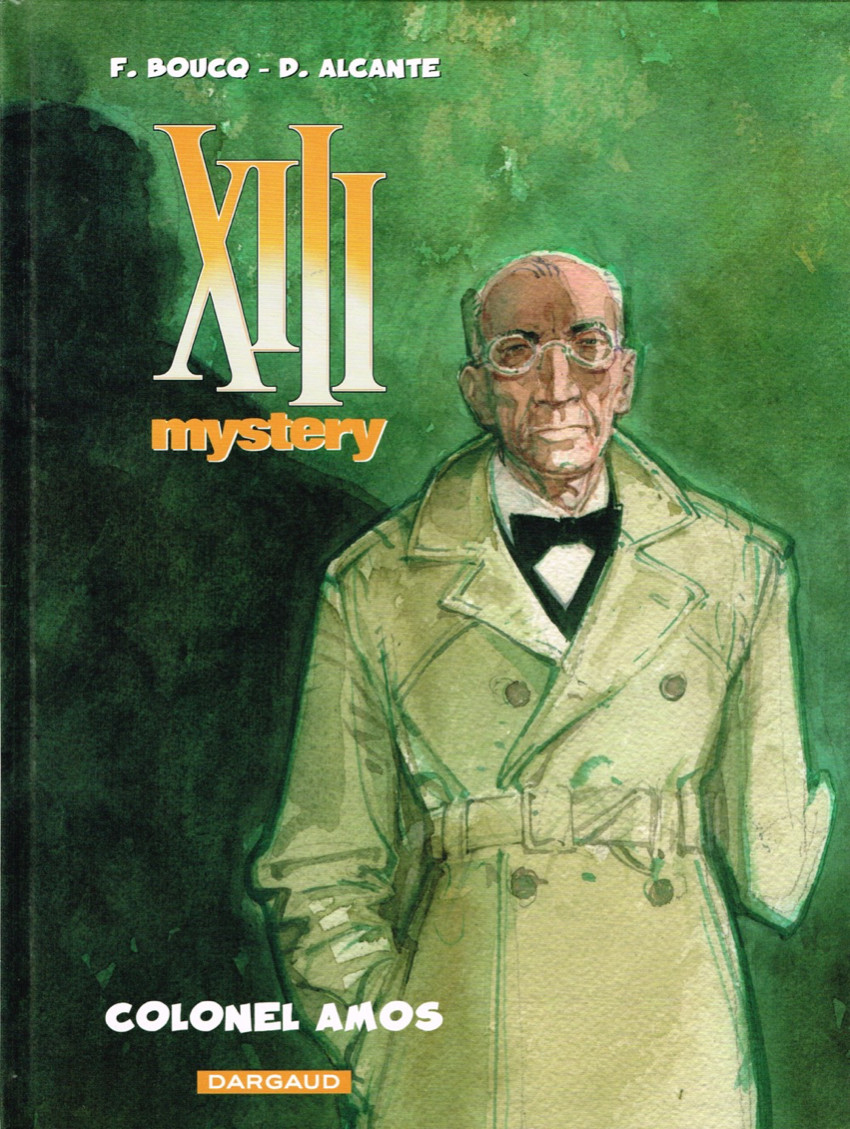 Couverture de XIII Mystery -4- Colonel Amos