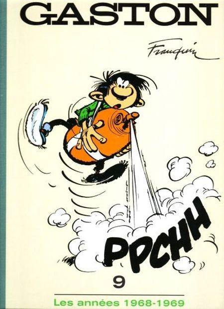 Couverture de Gaston - L'âge d'or de Gaston (Le Soir) -9- Les années 1968-1969