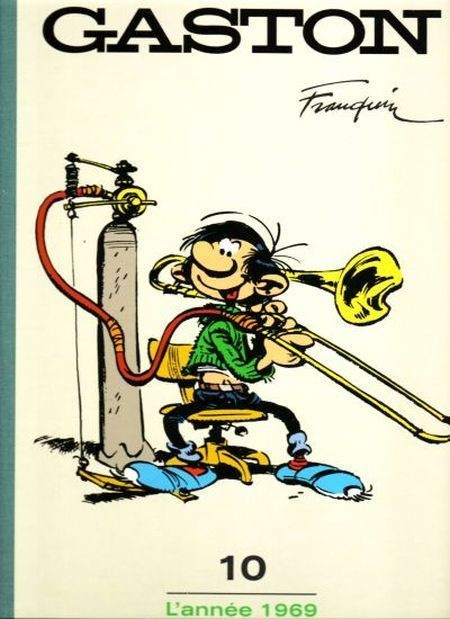 Couverture de Gaston - L'âge d'or de Gaston (Le Soir) -10- L'année 1969