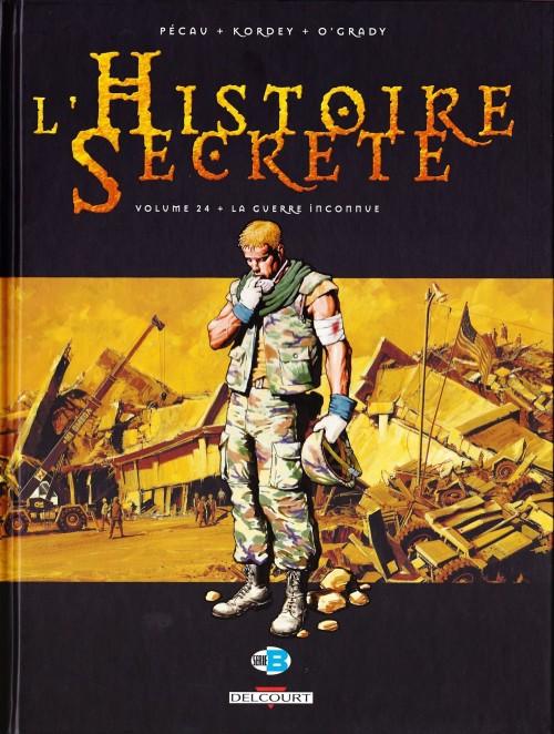 Couverture de L'histoire secrète -24- La Guerre inconnue