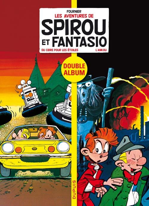 Couverture de Spirou et Fantasio - Diptyques -5- Du cidre pour les étoiles - L'Ankou
