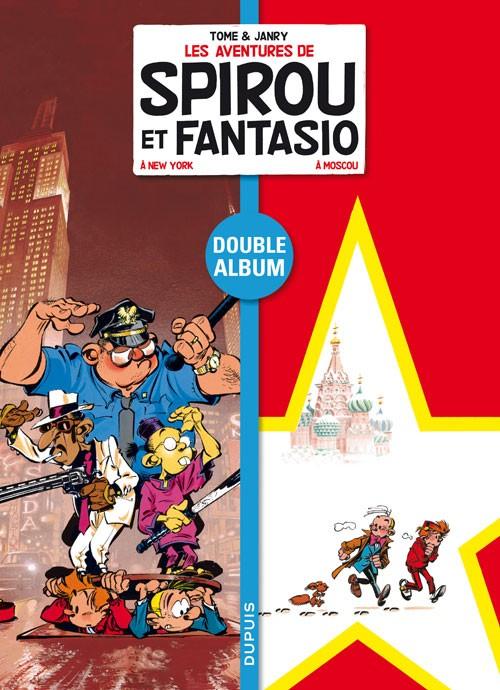 Couverture de Spirou et Fantasio - Diptyques -6- Spirou et Fantasio à New York - Spirou et Fantasio à Moscou