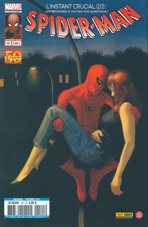 Couverture de Spider-Man (Marvel France 2e série - 2000) -141- L'instant crucial (2/2)