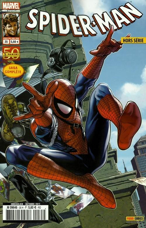 Couverture de Spider-Man Hors Série (Marvel France puis Panini Comics, 1re série) -35- L'origine des espèces