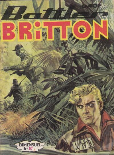 Couverture de Battler Britton -97- La mer de sable