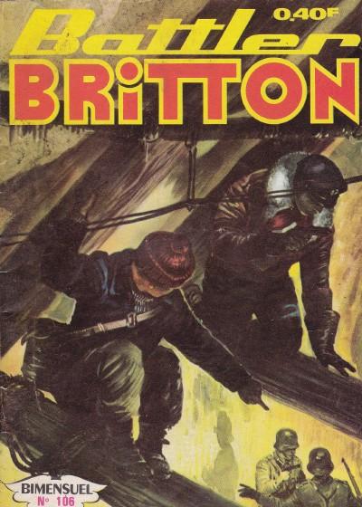 Couverture de Battler Britton -106- Objectif : Goliath (1)