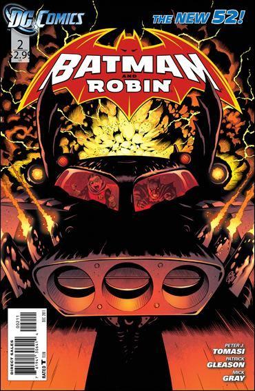 Couverture de Batman and Robin (2011) -2- Bad blood