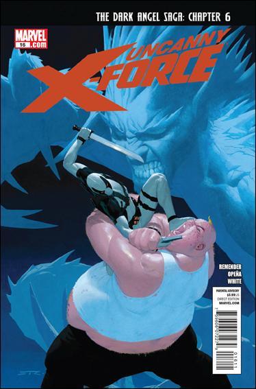 Couverture de Uncanny X-Force (2010) -16- Dark angel saga part 6 : no such thing