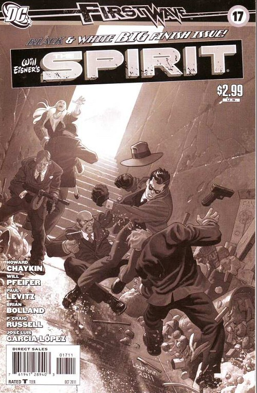 Couverture de Spirit (The) (2010) -17- Black and white big final issue