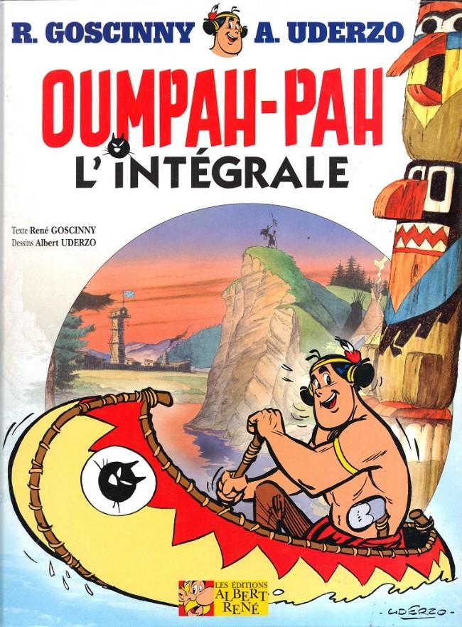Couverture de Oumpah-Pah -3- (Albert René) -INT- Oumpah-Pah l'intégrale