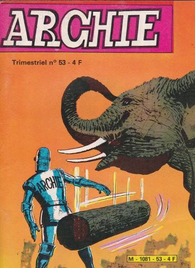 Couverture de Archie (Jeunesse et Vacances) -53- La bête hurlante